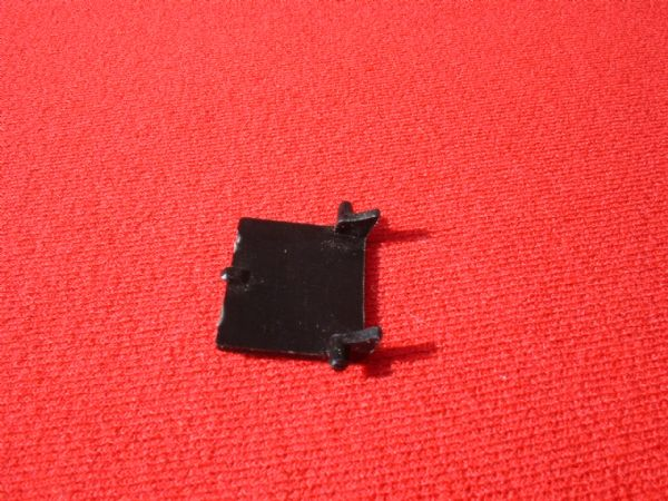 Dinky Toys 106 Thunderbird 2 Black plastic Pod Door (Each)